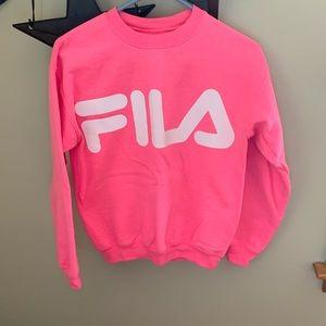 FILA crewneck sweatshirt